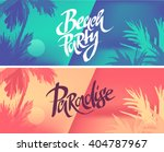 Tropic Vacation Background...