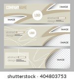 banner template. abstract... | Shutterstock .eps vector #404803753