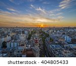 panoramic view of buenos aires... | Shutterstock . vector #404805433