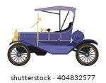 Vector Illustration Retro Car...