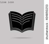 book icon | Shutterstock .eps vector #404850253