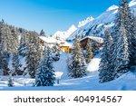 Lech Winter Landscape Scene ...