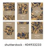 vector handmade abstract... | Shutterstock .eps vector #404933233