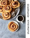 Puff Pastry Cinnamon Rolls On...