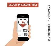 blood pressure test. measuring... | Shutterstock .eps vector #404969623