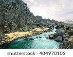 river stream in iceland nature... | Shutterstock . vector #404970103