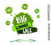 summer sale badge  label ... | Shutterstock .eps vector #404993203