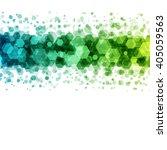 abstract geometric hexagon... | Shutterstock .eps vector #405059563
