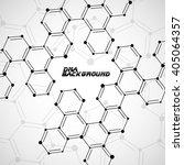 structure molecule of dna.... | Shutterstock .eps vector #405064357