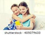 people  children  technology ... | Shutterstock . vector #405079633