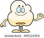 a cartoon illustration of a... | Shutterstock .eps vector #405121453