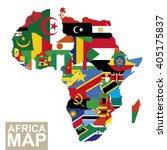 africa map. vector map of...   Shutterstock .eps vector #405175837