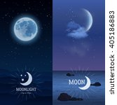 Moonlight Vertical Banner Set...