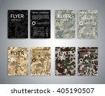 Flyer Design Templates. Set Of...