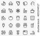 food categories | Shutterstock .eps vector #405194917