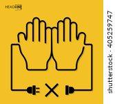 connection flat design medicine | Shutterstock .eps vector #405259747