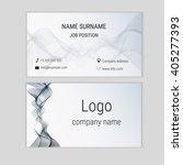 abstract business card design... | Shutterstock .eps vector #405277393