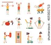 vector illustration with... | Shutterstock .eps vector #405302713