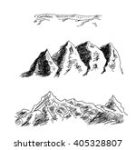 mountains and rocks scenery ... | Shutterstock . vector #405328807