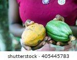 Unrecognizable Female Farmer...