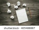 creativity  concept  notepad ... | Shutterstock . vector #405488887