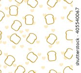 vector stylized image of toast...   Shutterstock .eps vector #405540067