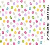 easter background .eggs...   Shutterstock . vector #405554563