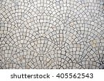 Marble Cobblestone Pavement...