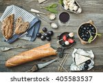 french cuisine. different types ... | Shutterstock . vector #405583537