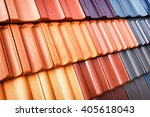 Different Roof Tiles   Close Up