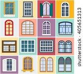 vector illustration of windows... | Shutterstock .eps vector #405651313