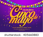 vector illustration of cinco de ... | Shutterstock .eps vector #405660883