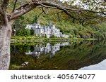 kylemore abbey  ireland   Shutterstock . vector #405674077