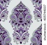 vector seamless paisley pattern | Shutterstock .eps vector #405744037