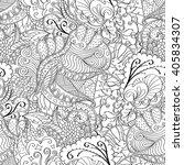 tracery seamless calming... | Shutterstock .eps vector #405834307