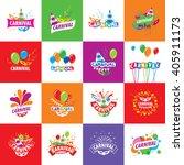 carnival vector logo | Shutterstock .eps vector #405911173