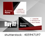 red abstract template for card... | Shutterstock .eps vector #405947197