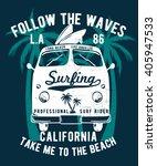 california typography for t...   Shutterstock .eps vector #405947533