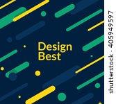 material design background.... | Shutterstock .eps vector #405949597