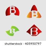 letter b logo template....