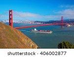 Golden Gate   Cargo Ship...