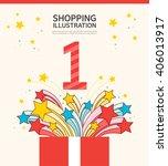 shopping illustrations | Shutterstock .eps vector #406013917