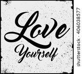 slogan vector graphic design... | Shutterstock .eps vector #406038577