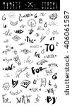 hand drawn vector illustration | Shutterstock .eps vector #406061587
