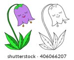 coloring  book.  hand drawn.... | Shutterstock .eps vector #406066207