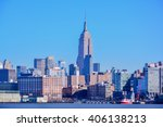 new york  united states  ... | Shutterstock . vector #406138213