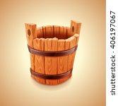 Bucket Wood Vintage