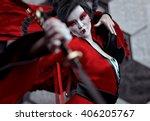 Japan Female Warrior   Kabuki ...