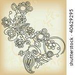vintage design   Shutterstock .eps vector #40629295