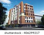 3d rendering and design  ... | Shutterstock . vector #406299217